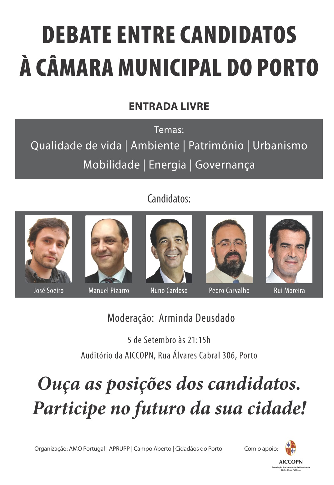 Debate Candidatos