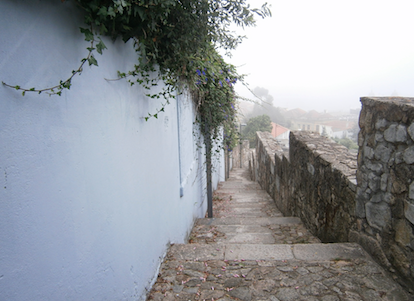 Imagem obtida ao longo de um dos percursos «Caminhos do Romântico» no Porto