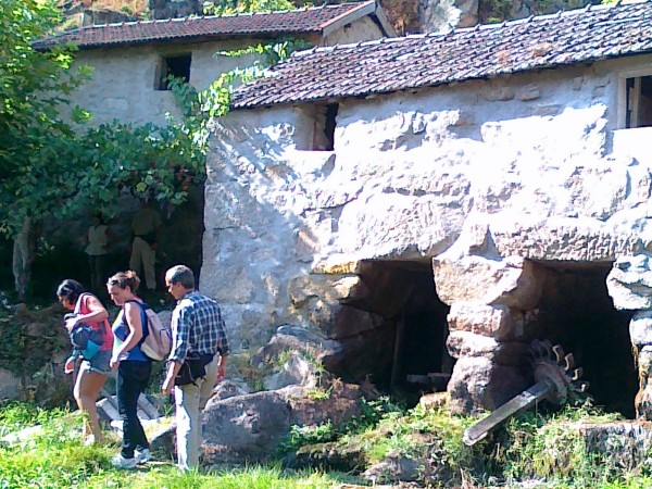 Um moinho recuperado em Terras de Basto (visita da Campo Aberto em 7 de setembro 2013).