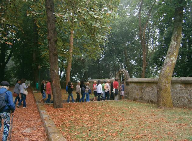 Numa visita da Campo Aberto aos Caminhos do Romântico no Porto, julho 2014