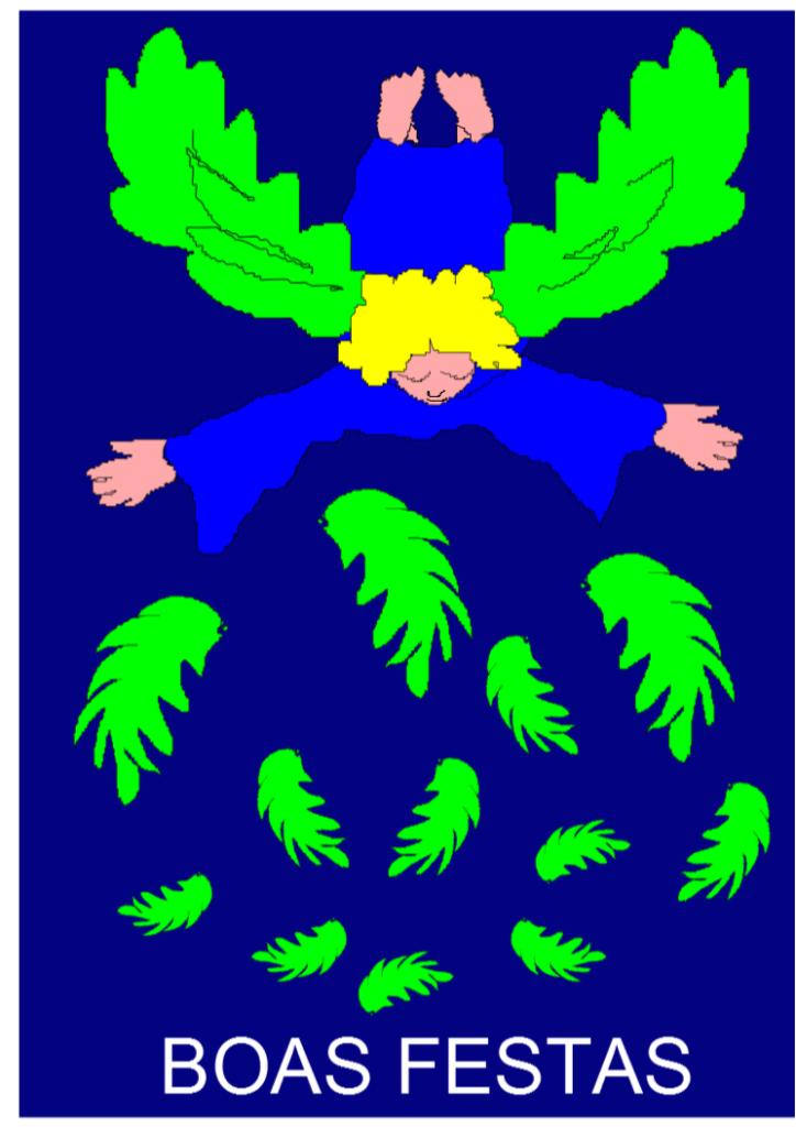 A Campo Aberto agradece ao pintor e escultor José Maria França Machado ter permitido que utilizássemos este cartão de Natal de sua autoria para exprimir aos sócios e amigos da associação os nossos melhores votos de Boas Festas.