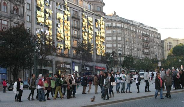 Marcha pelo Clima no Porto 29 dezembro 2015 - Foto Cláudio Anes