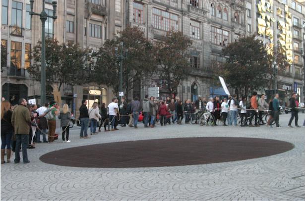 Porto pelo Ambiente convocou esta marcha pelo clima realizada em 29 dezembro 2015 Foto Cláudio Anes