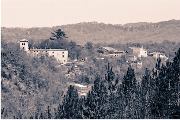 La Borie Noble, sede da comunidade da Arca fundada por Lanza del Vasto