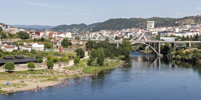 O Minho em Ourense, Galiza.