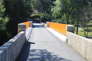 Ecovia do Vez, Santar- Ponte sobre o Vez